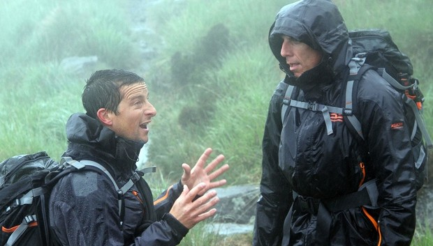 Ben Stiller and Bear Grylls