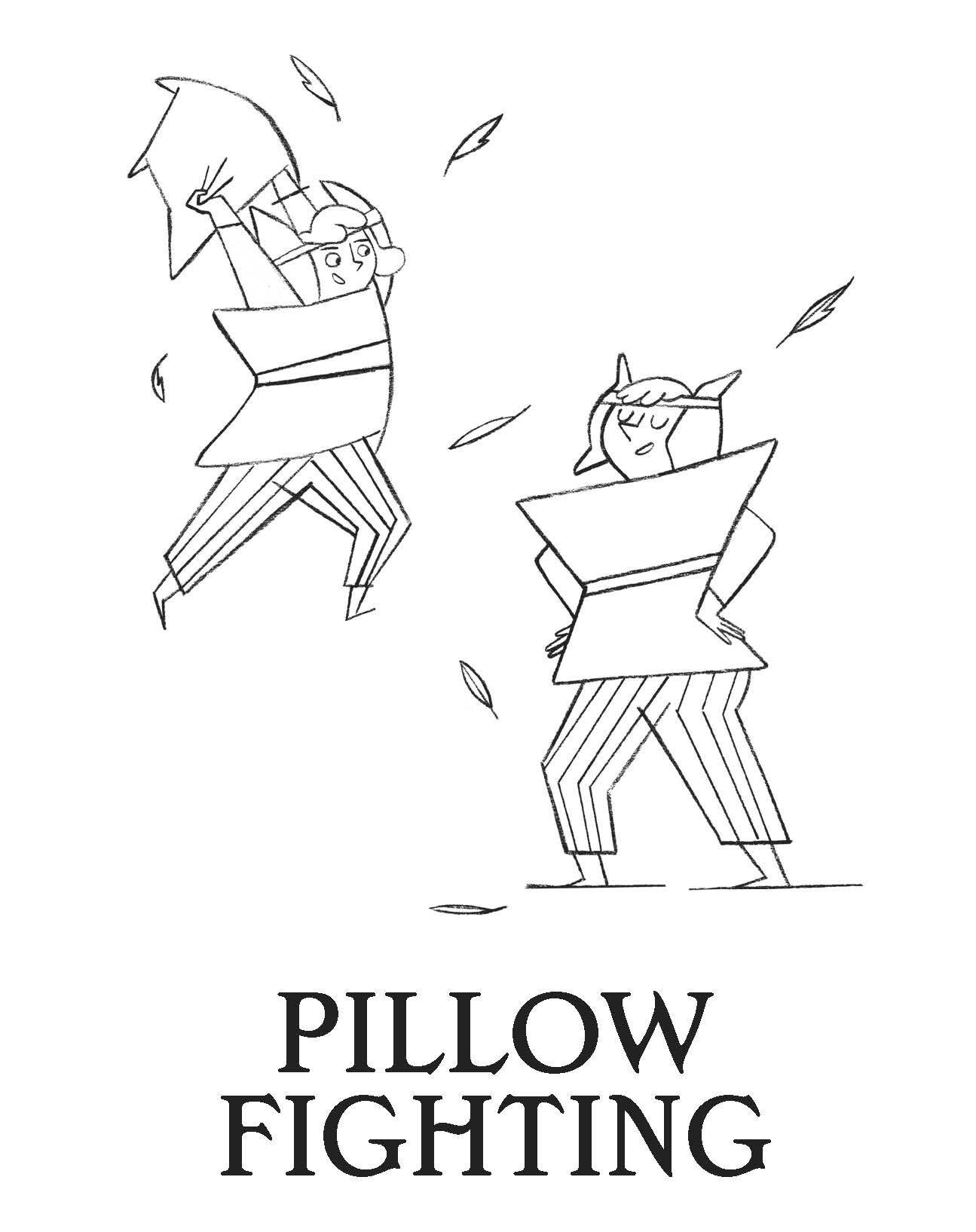 how-to-win-games-and-beat-people-pillow-fight