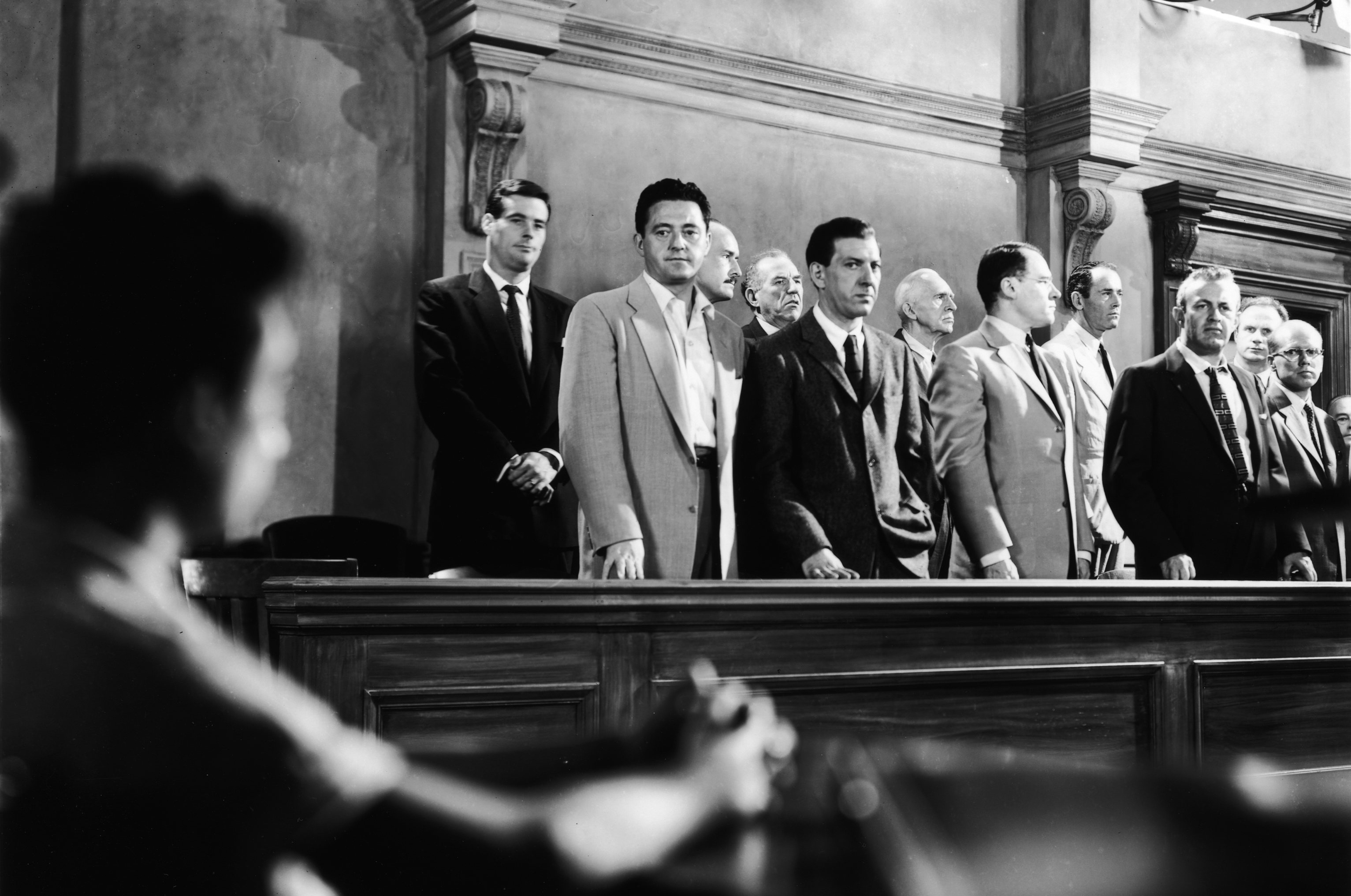 an analysis of the jury in the film called twelve angry men