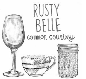 rustybelle - common courtesy