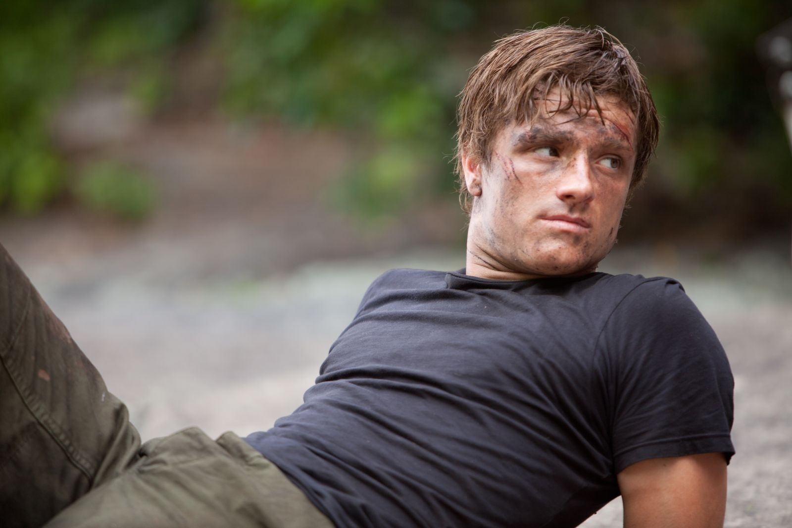 The Hunger Games Peeta