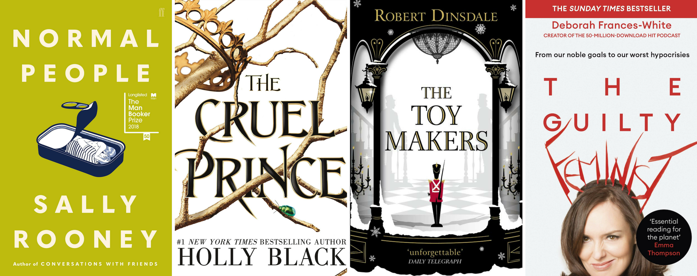 Best Books Of 2018 Normal People The Toymakers The Cruel Prince